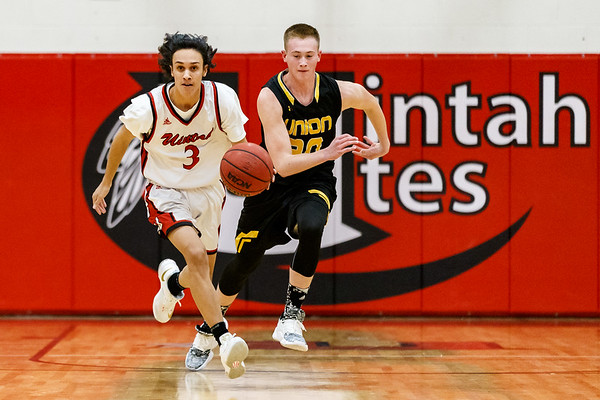 Basketball: Union at Uintah