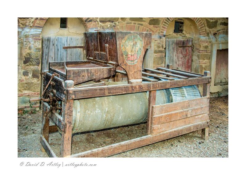 Separator, Fattoria Santo Stefano, Greve in Chianti, Italy