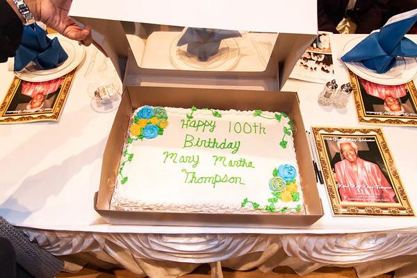 Aunt Martha's 100th