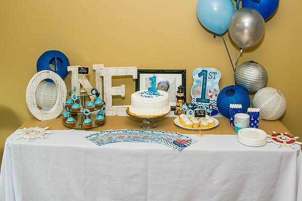 Noah Saunder's 1st Birthday Party