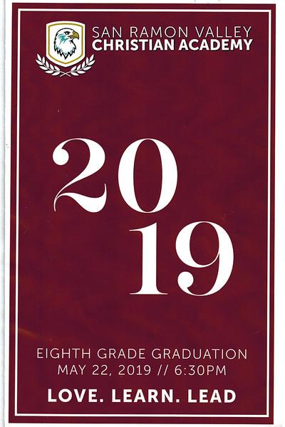Avery Markham Eighth Grade Graduation
