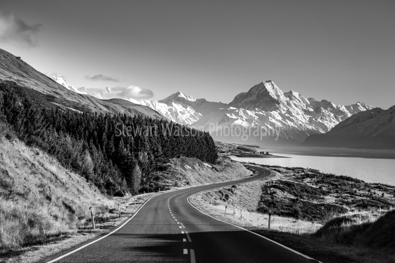 Mt Cook Rd , Lake Pukaki