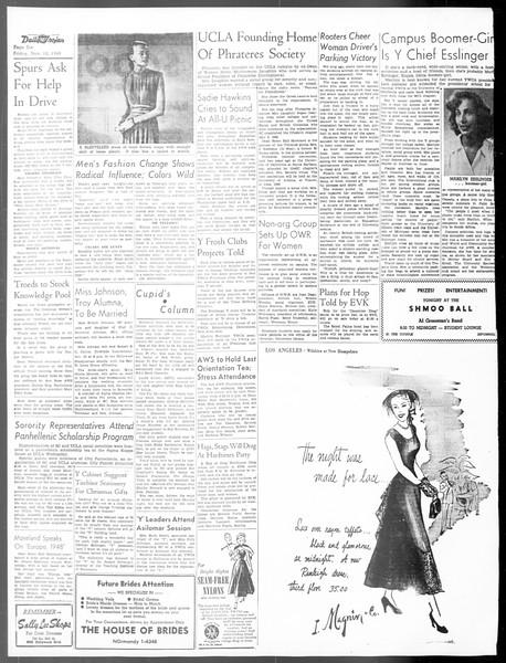 Daily Trojan, Vol. 40, No. 44, November 12, 1948