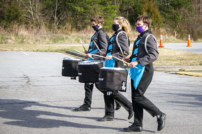 Percussion Marching In