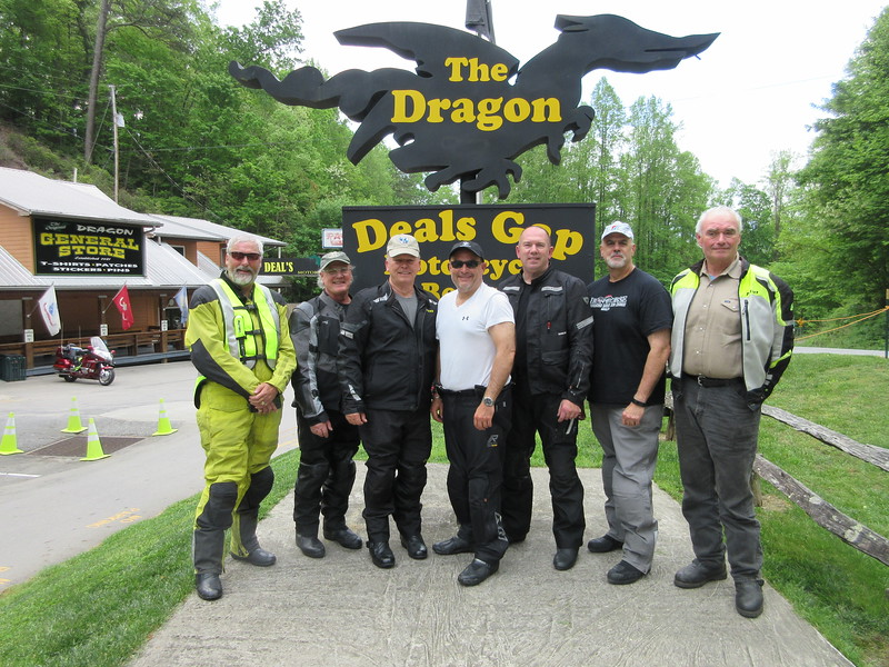 Thursday Ride, K1600 Tame the Dragon, North Carolina and Tennessee, May 2019
