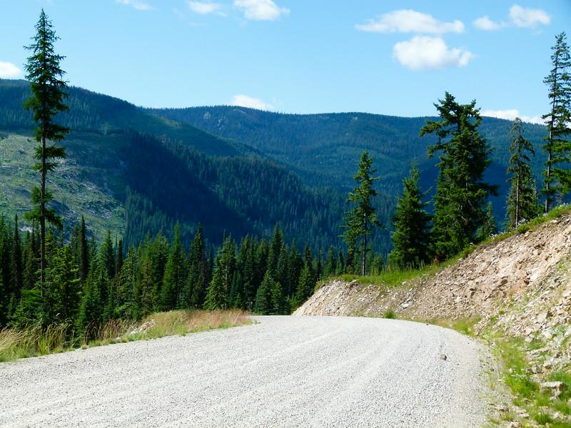 Elk Meadows Road in Idaho