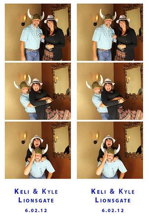 6.2.12 Keli and Kyle Photobooth
