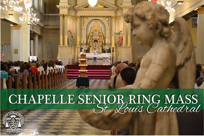 Chapelle Ring Mass  - Class of 2014