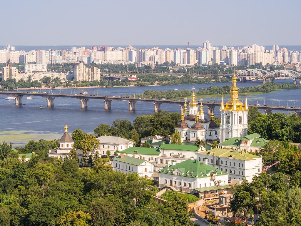 Lower Lavra Monastery along the Dnieper River, Kiev, Ukraine
