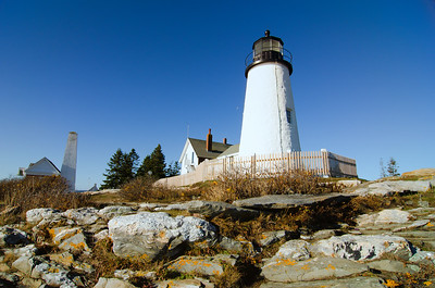 Pemaquid Lighthouse and Camden Harbor