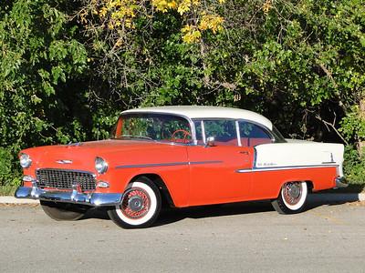 1955 Chevy Belair Two Door Hardtop for sale