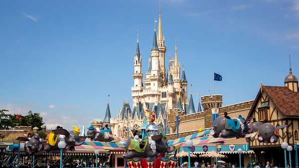 Disneyland Resort, Tokyo Disneyland, Fantasyland, Dumbo