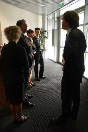 Speeddate minister Marja van Bijsterveldt met studenten