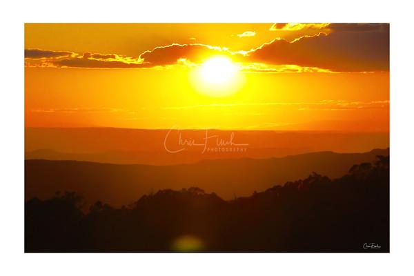 Manti La Sal Sunset, UT