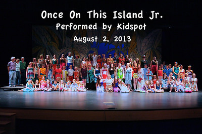 """Once On This Island Jr."" Performed by Kidspot"