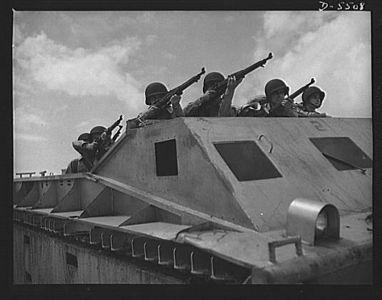 Montford Point Marines At War