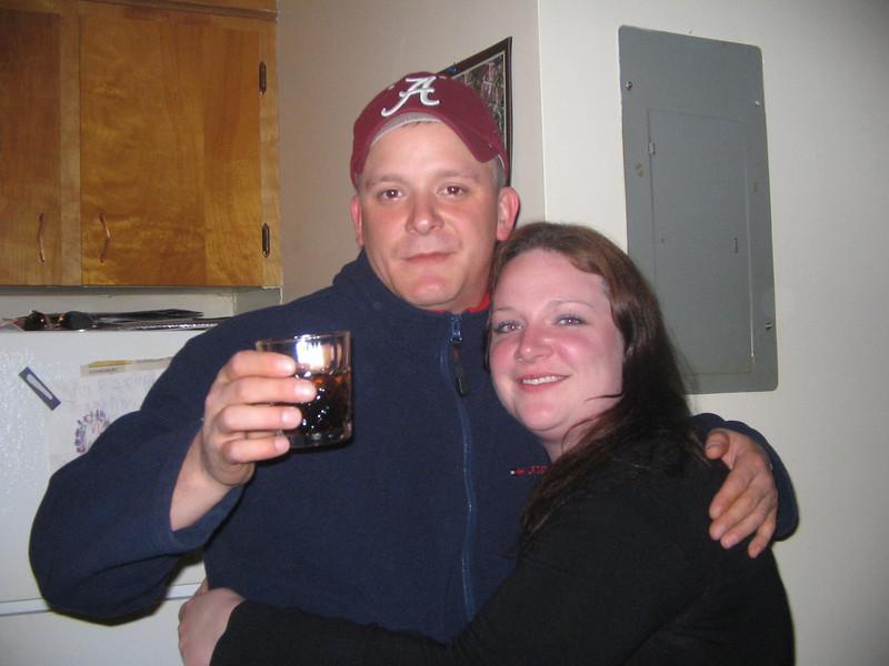 Shane and Amanda at Big Trev's Place