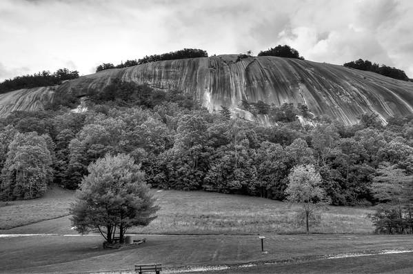 Blue Ridge in Black and White