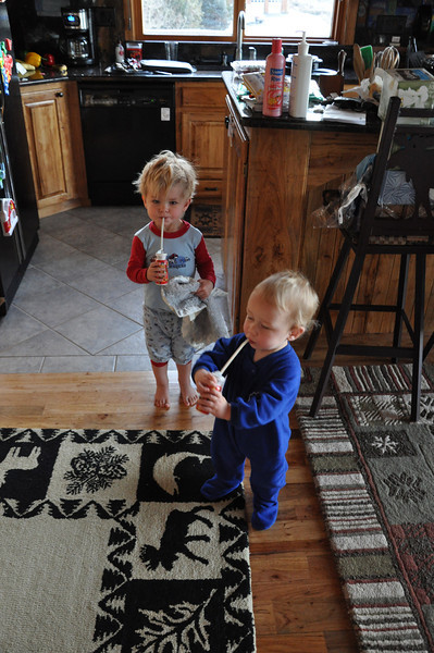 Yogurt drinks: the quietest two minutes of the day