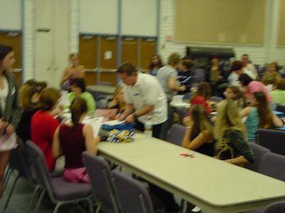 Parent Cheer Meeting 5/15/2002