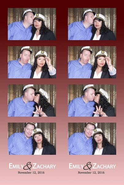 Emily + Zachary = Swanky Photobooth