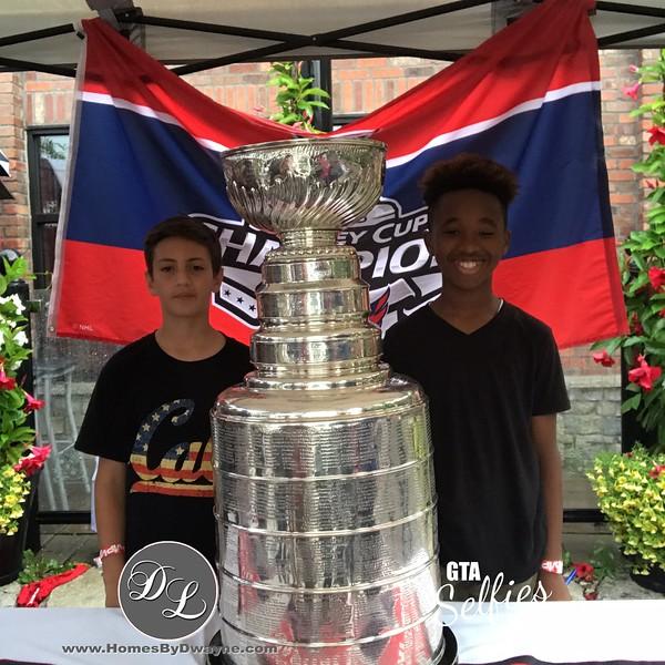 Devante Smith-Pelly Stanley Cup Tour