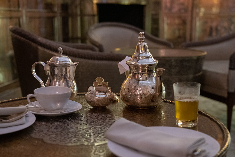 Tea at the Royal Mansour