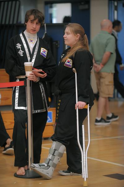 Jessica and Max at the 2016 WKSA Pacific Tournament, Folsom, CA.  April 16, 2016.