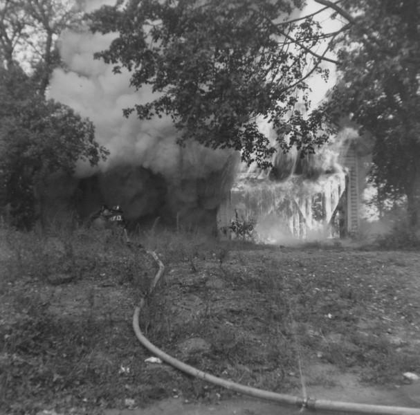 Drill - house fire Rockville Pike
