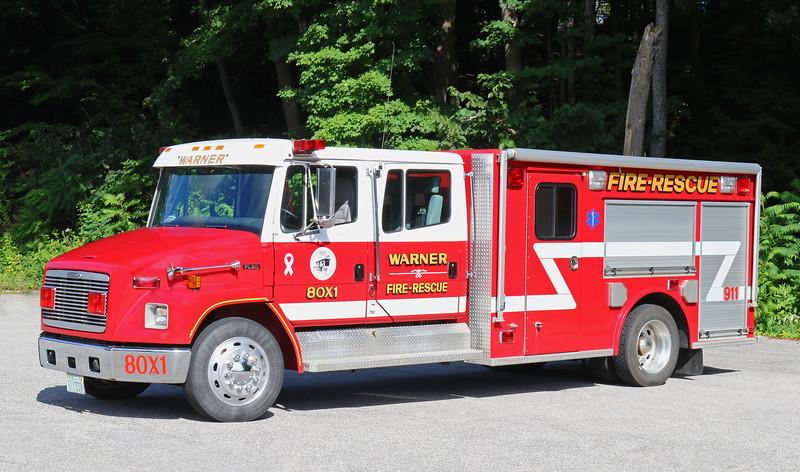 Rescue 1.  1999 Freightliner / Valley