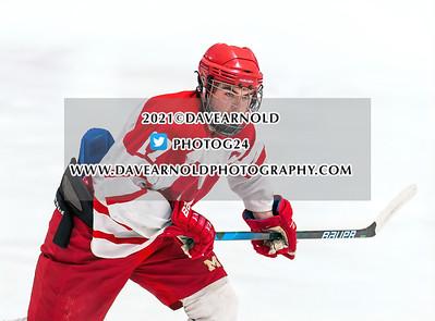 2/17/2021 -  Boys Varsity Hockey - Winchester vs Melrose