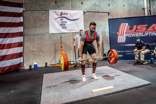 2020 USA Powerlifting, MO River Open 12.12.2020