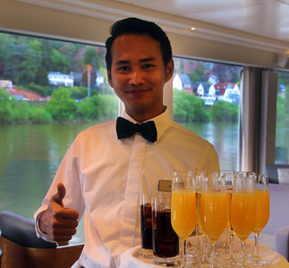 Viking River Cruise, On-Board Scenes & Cuisine, Excursions