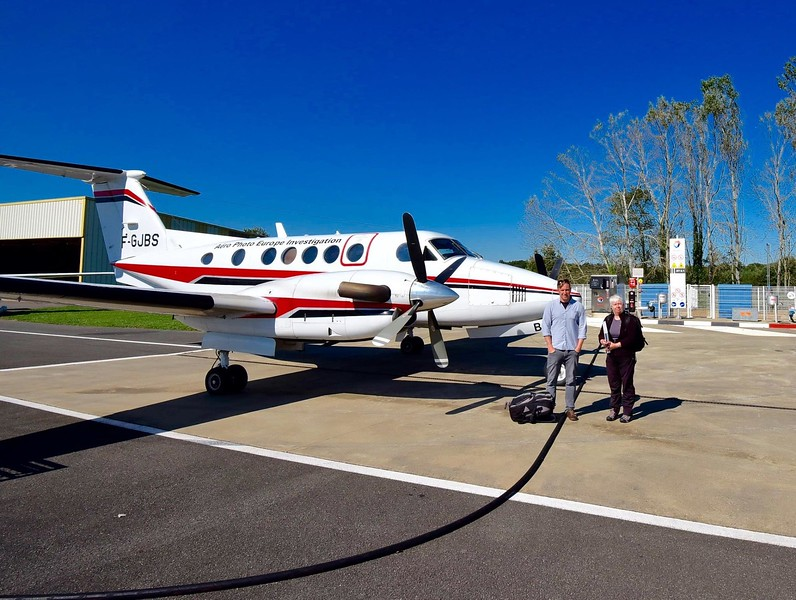 Kingair 200 Southern France 2015