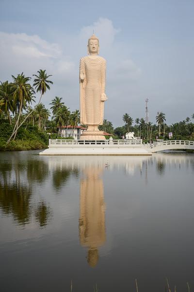 Bouddha reconstruit par les Japonais suite au Tsunami de 2004