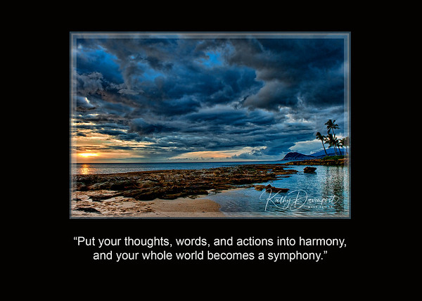 Forget About Balance:  Strive for Harmony