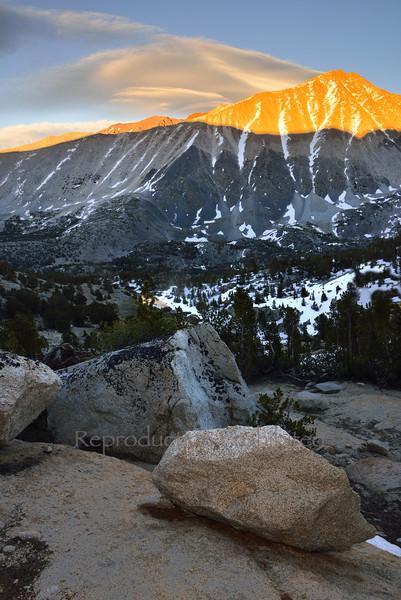 Lenticular over Rock Creek Spring 2014