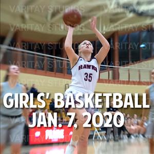 Prairie Girls Basketball, January 7, 2020
