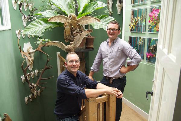 Thuis bij… Florian Seyd & Ueli Signer