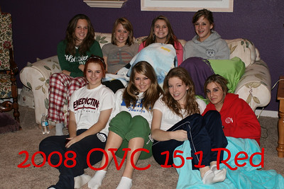 OVC 15-1 Red Casual Team Pic