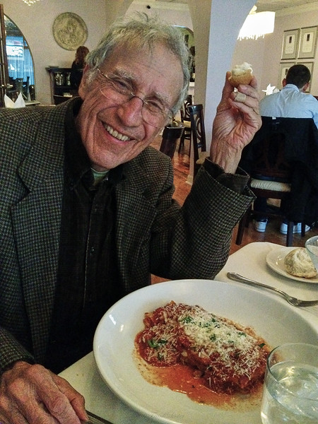 Larry Lebin, dinner with FL, at DiSalvo restaurant, Williamsport PA. Oct 12 2012