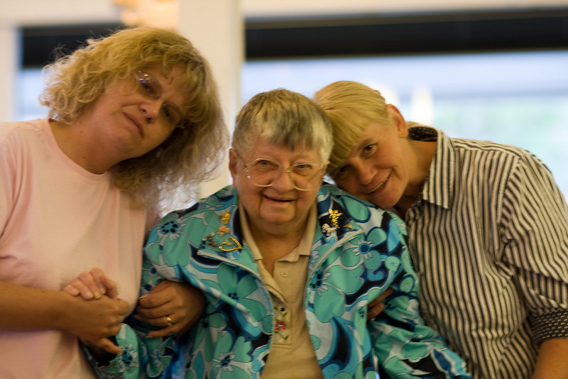 Darcy, Grandma, and my Mom :)