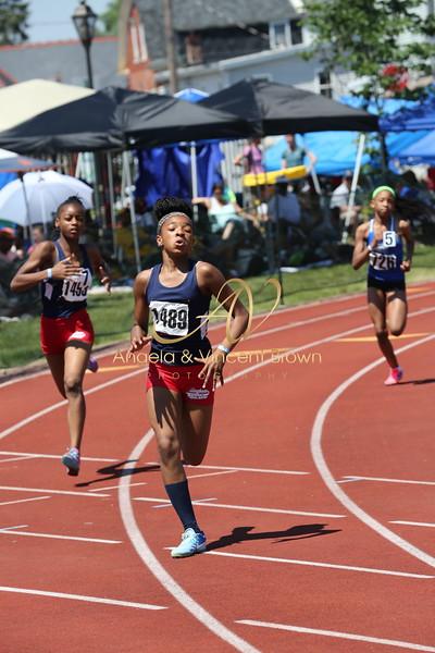2017 AAU DistQual: 11 Girls 200m