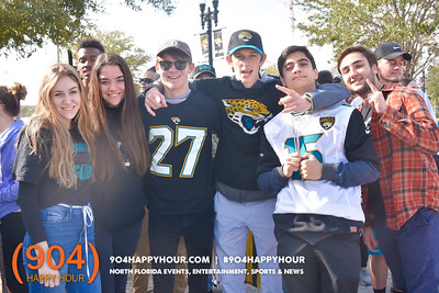 Jaguars Send Off @ Everbank Field - 1.20.18