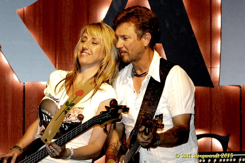 Luanne Carl & Russ Carl - Domino at The Draft 2015 270