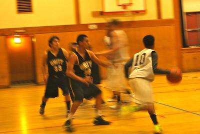 Boys' basketball VS Impact-11/15/2012