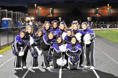 2011 Chantilly Chargers JV Cheerleaders