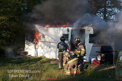 04-27-2012 Fatal Dwelling, Pilesgrove  Twp. Salem County, Woodstown, Daretown rd. Four Seasons Campground