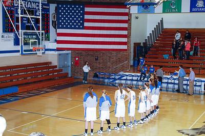 DHS Girls Basketball 02-11-2014