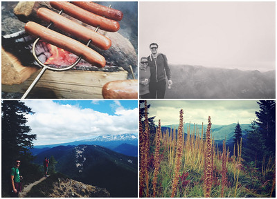 camping blog post